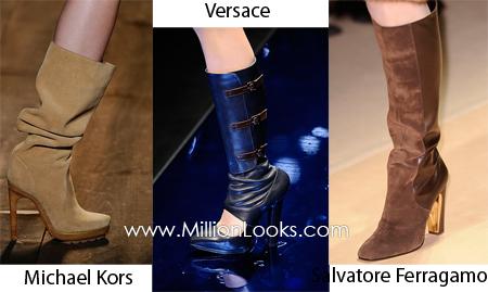 Модная обувь зима 2010-2011