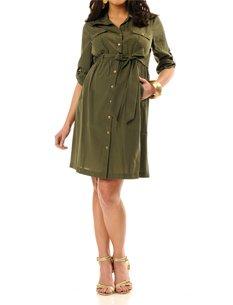 Платье Милитари для беременных 2011