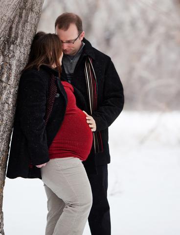 Беременность и зима фото