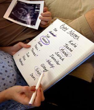 Как выбрать имя будущему ребенку?
