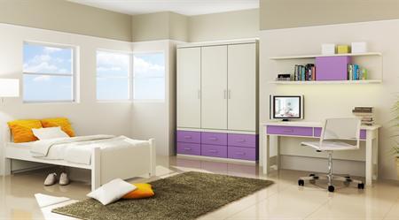 Комната для девочки 3-7 лет