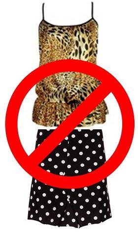 Как не надо носить леопардовый принт