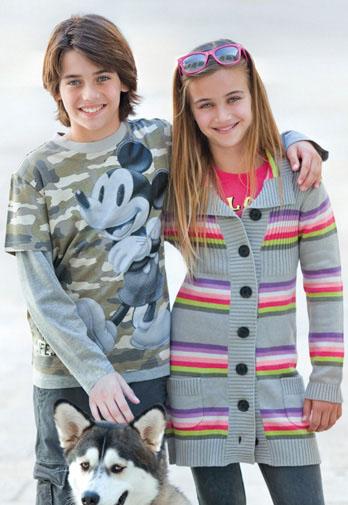 Детская мода весна 2012