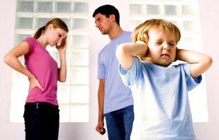 Ребенок и развод родителей